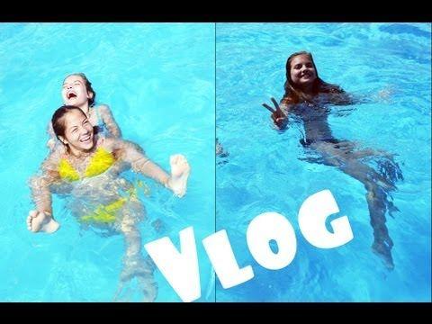 Весёлый Летний День/ Веселье в бассейне и Странный гамак :)