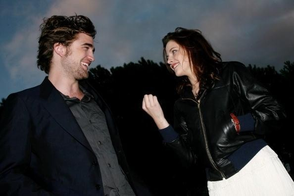 Rob, Kristen, and Taylor from the beginning of Twilight 'til now. It's like watching them grow up ... Awwww. :)