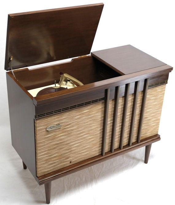 Olympic Stereo Record Player Console