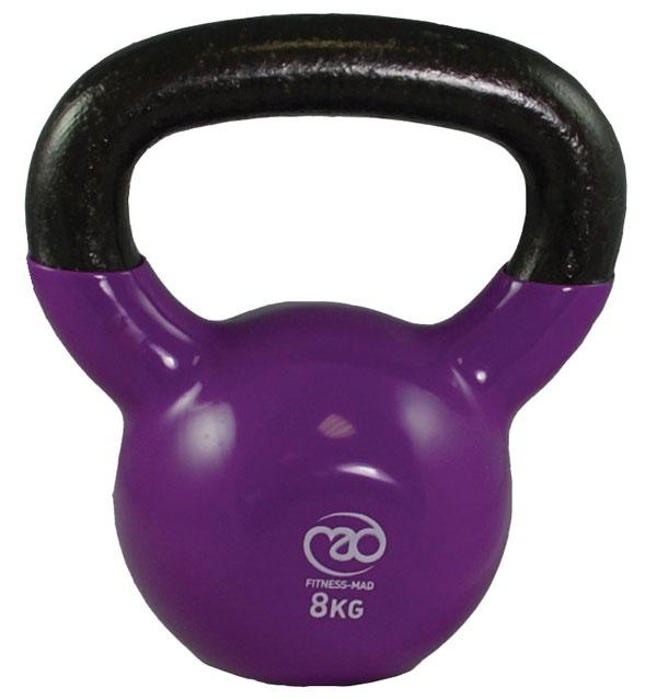 8Kg Kettlebell - Purple