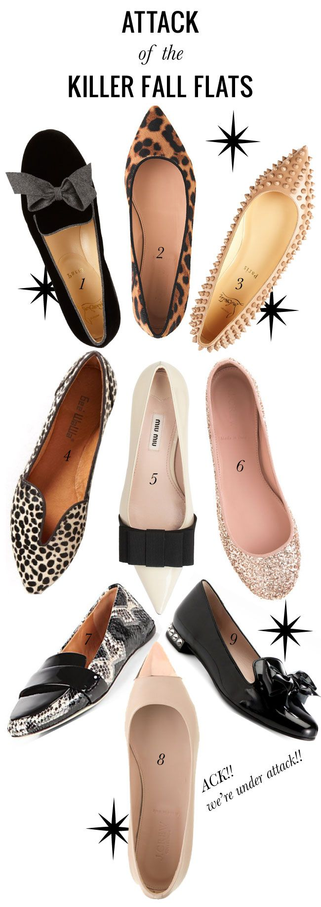 KILLER fall flats // Mrs Lilien - I need to check these out. I seldom wear flats, but I also have a hard time finding cute ones.