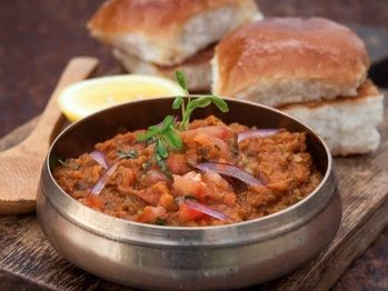 This is my take on the popular Indian street food, Pau Bhaji, that is sold in carts that dot the side of every alternate lane in the city of Mumbai. An Indian style Sloppy Joe
