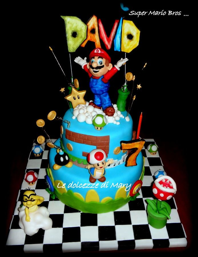 Best Super Mario Party Images On Pinterest Mario Party Super - Cake birthday games