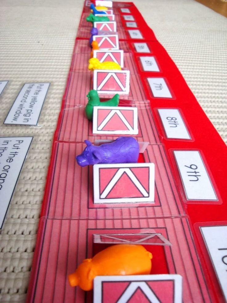 Here's a terrific idea for practicing ordinal numbers.