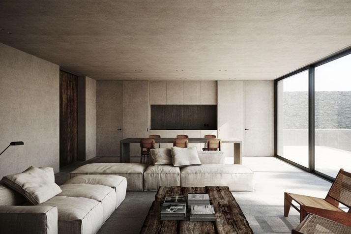 Concrete S House by Nicholas Schuybroeck in Cap D'Antibes