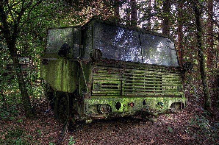 Abandoned Tatra T813