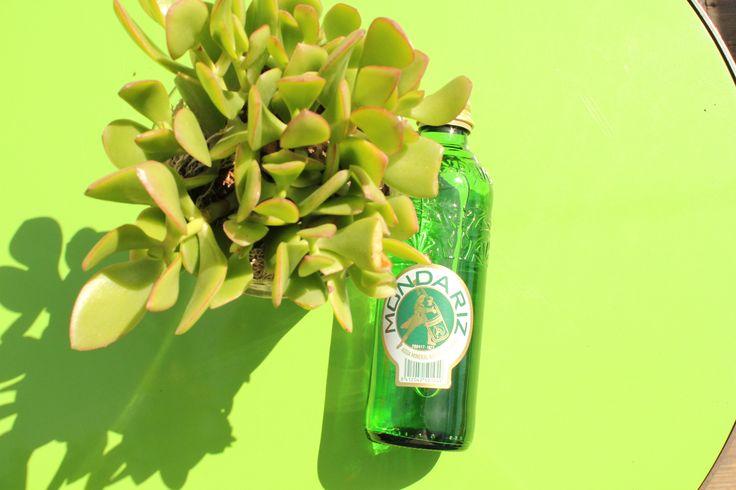 EL verde está de moda, como el verde de nuestra botella de agua mineral natural Mondariz, un agua con más de 140 años de historia.