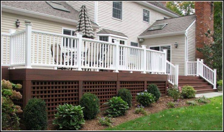 Most Stunning Deck Skirting Ideas to Try at Home tag: deck ...