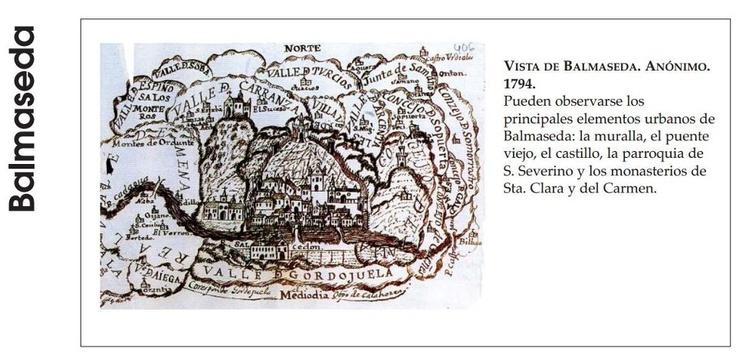 Antiguo plano de Balmaseda