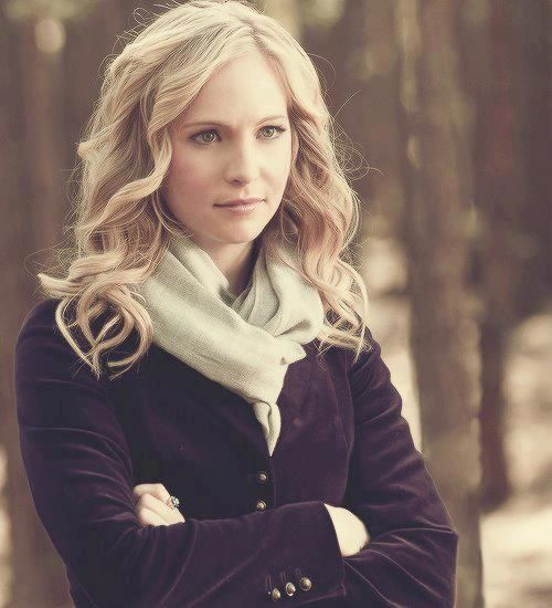 candice accola as Caroline Forbes in The Vampire Diaries