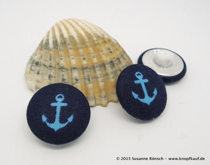 Knopf, Anker, maritim