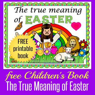 The True Meaning of Easter Facebook HappyandBlessedHome.com