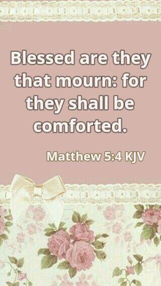 Matthew 5:4 KJV