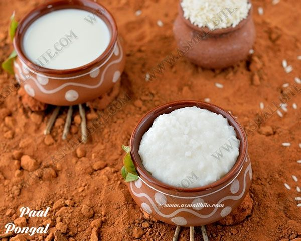 Paal pongal recipe / Milk pongal recipe is specially prepared on the day of 'Thai pongal' which marks the beginning of the Thai month in Tamil calendar.