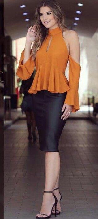 Asombrosa blusa casual