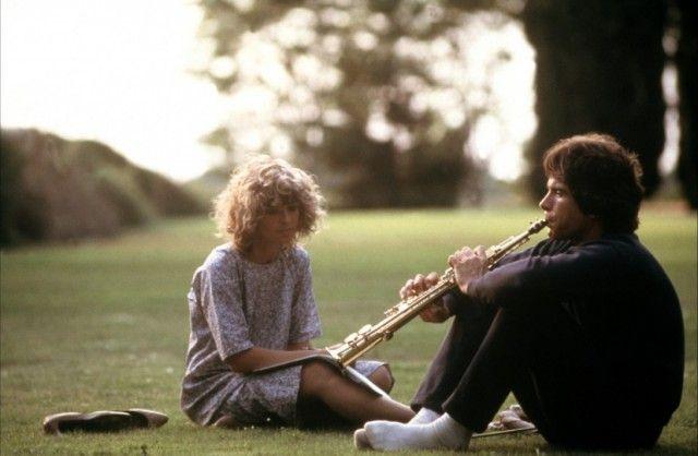 Warren Beatty and Julie Christie