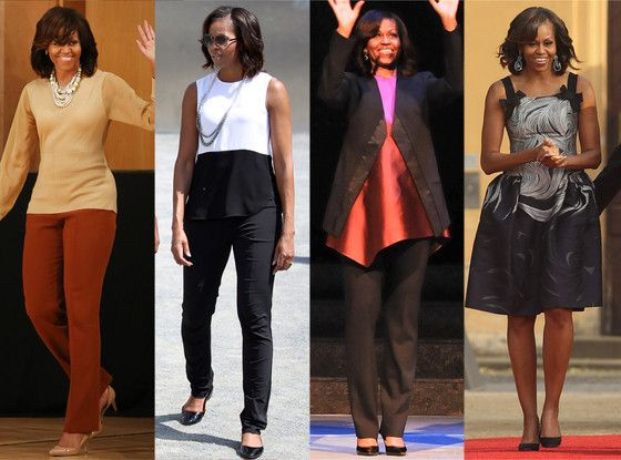 Michelle Obama's International Style—See the Fashions From Her European Tour  Michelle Obama