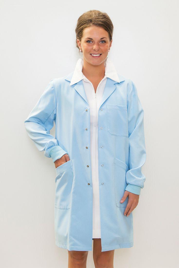 Doctors Lab Coat in blue