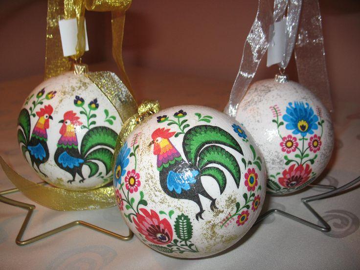 polish folck christmas ball