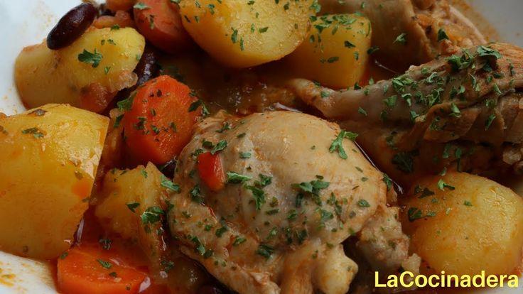 Receta: Pollo Estofado, espectacular! (easy chicken stew) - LaCocinadera