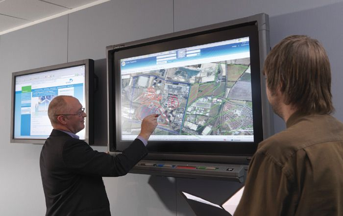 would be great to have some 'smart' / interactive displays / whiteboards