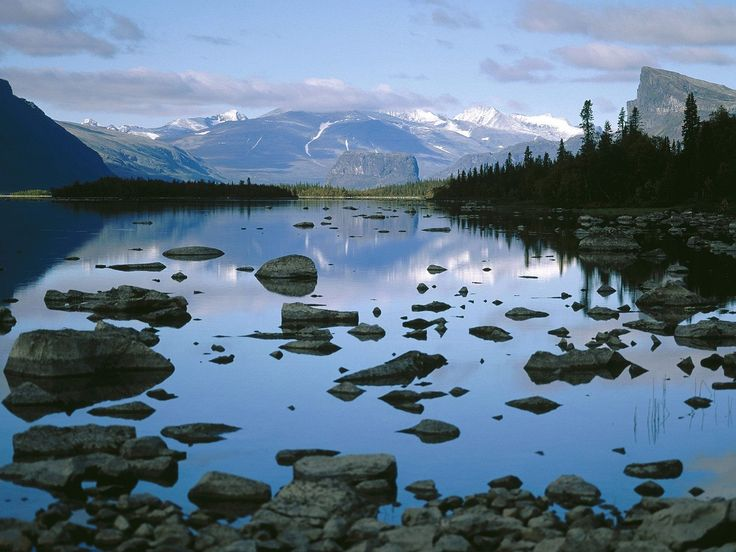Sarek National Park is a national park in Jokkmokk Municipality, in the province Lapland in northern Sweden. Sarek borders the national parks Stora Sjöfallet and Padjelanta. The national park is popular with hikers and mountaineers, but not suitable for beginners.