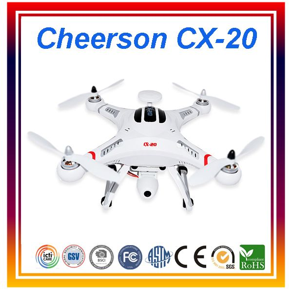 Dwi Dowellin Original Cheerson CX-20 Professional Drones RC Quadcopter
