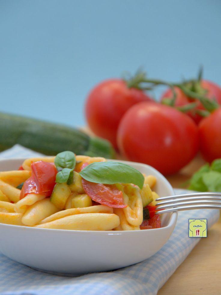 Pasta zucchine pomodoro fresco e basilico gp