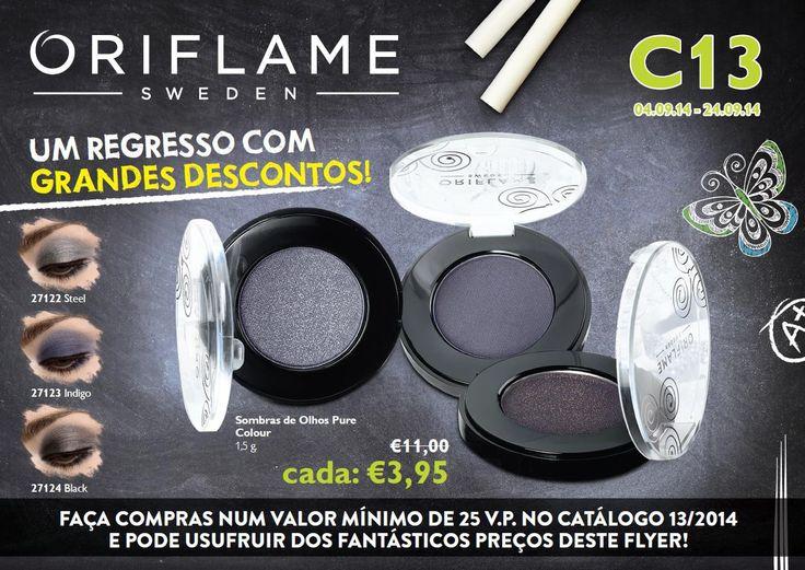Flyer do Catálogo Oriflame 13 2014