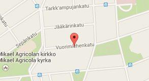 Map of Arkkitehtitoimisto Siltanen ja Laakso Oy