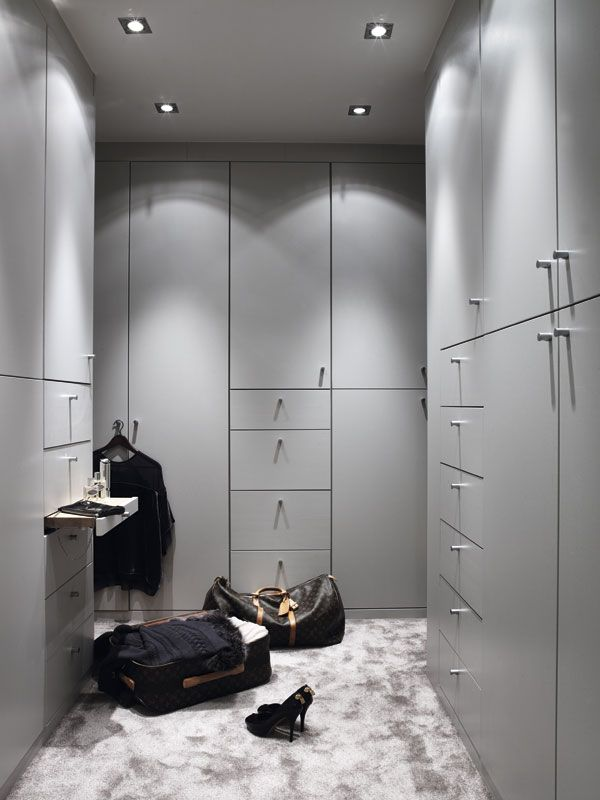 we want to add pull out shelf in walk in wardrobe - see this pic for inspiration.  one on each side.