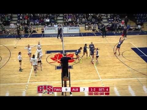 WVB | TWU Spartans 2015 CIS Championship Highlights - YouTube