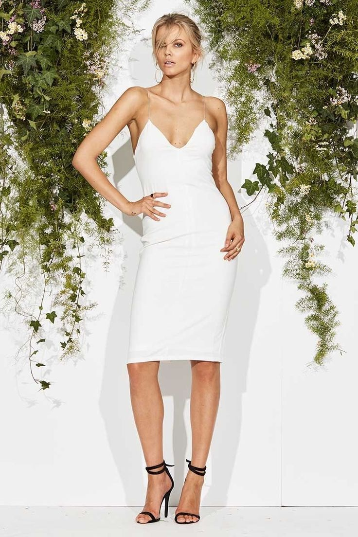 Maurie & Eve - Get Ready Dress White