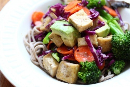 Soba salad with sesame miso dressing | Food Food and More Food | Pint ...