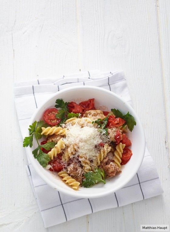 Fenchel-Mett-Pasta