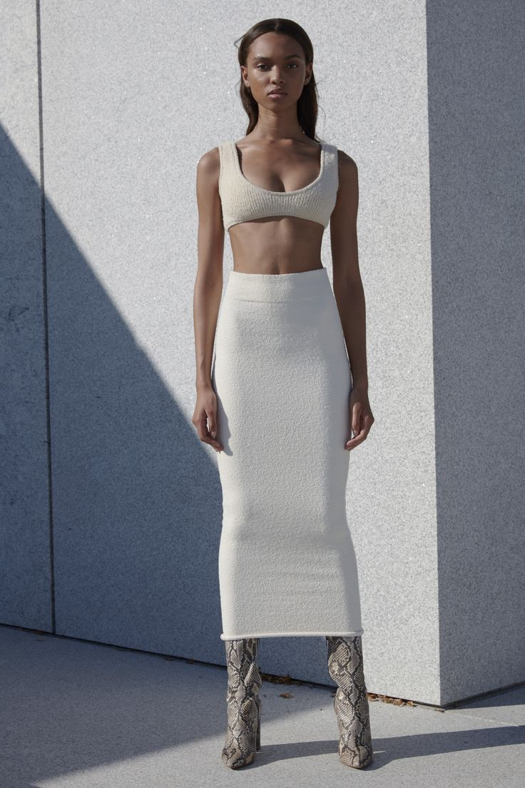 Yeezy - the skirt, the boots, everything