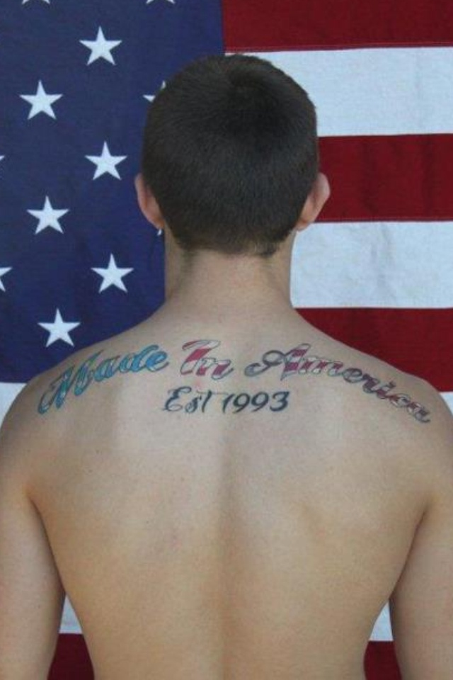made in america tattoo born in the usa pinterest