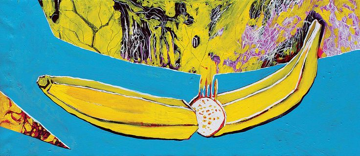 Taste 100x45 cm oil on canvas