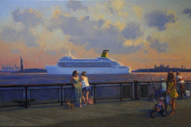 On the Boardwalk, 2012, by Joseph Peller