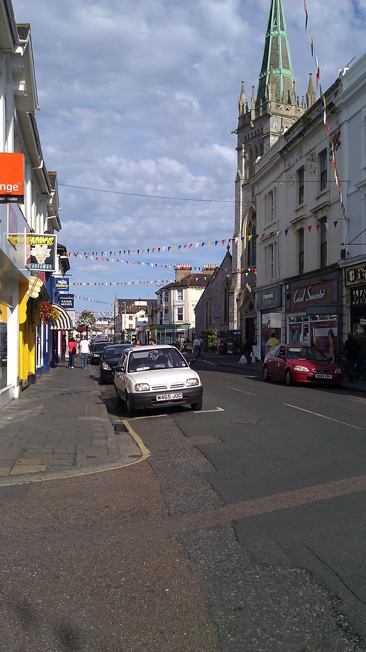 Summer in Newton Abbot, UK.   :)- the old town never really changes - love it still.