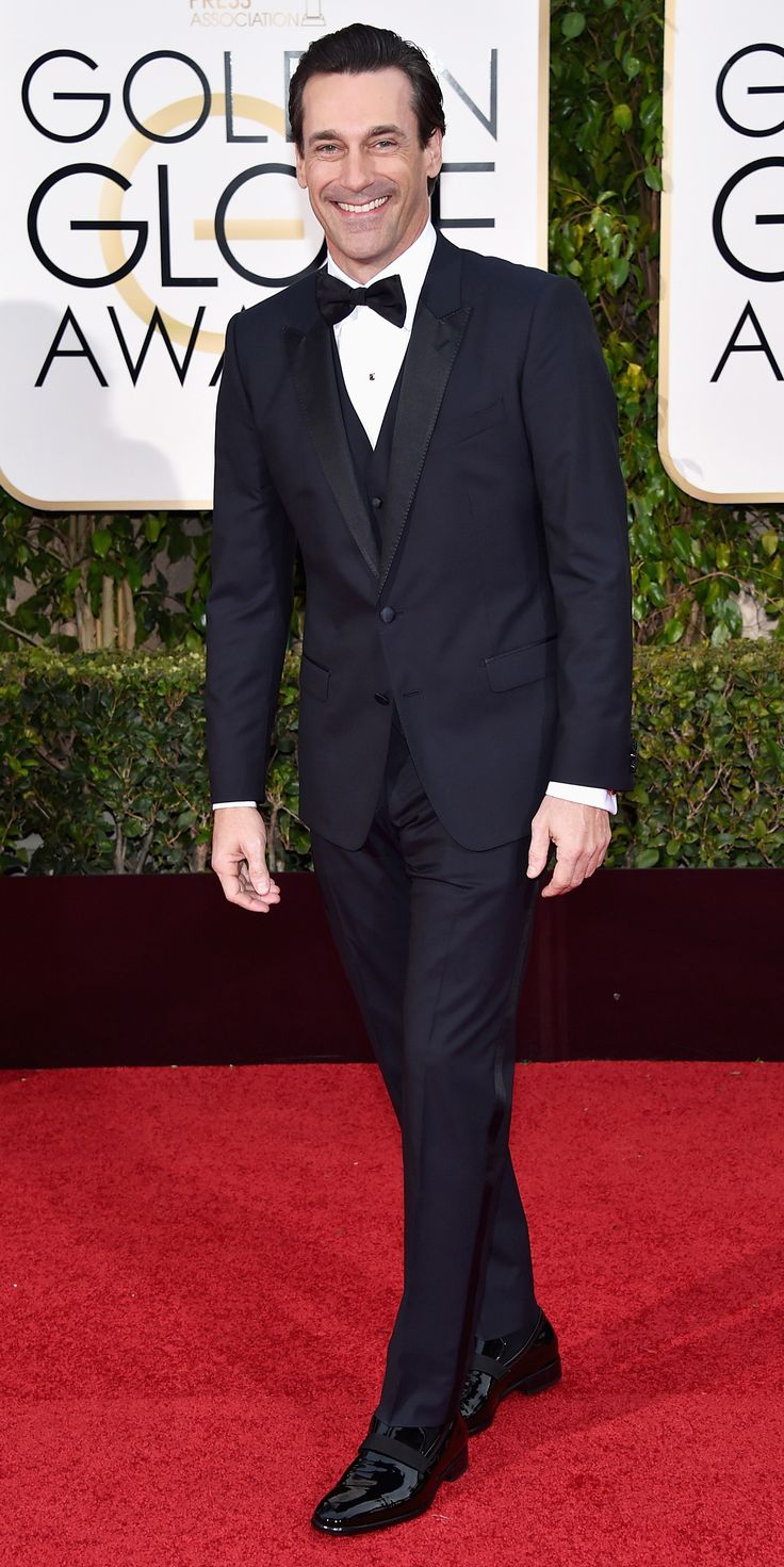 These 12Hunks Prove the 2016 Golden Globe AwardsWere the Hottest Ever - Jon Hamm  - from InStyle.com