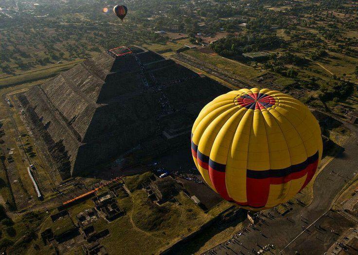Xplora en Globo - Teotihuacan