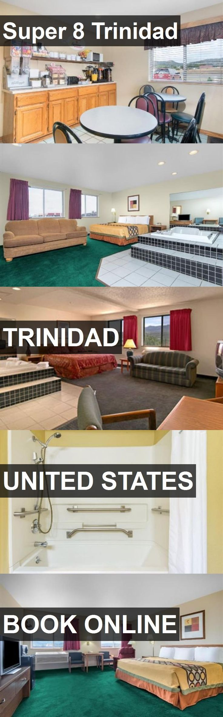 Hotel Super 8 Trinidad in Trinidad, United States. For more information, photos, reviews and best prices please follow the link. #UnitedStates #Trinidad #Super8Trinidad #hotel #travel #vacation