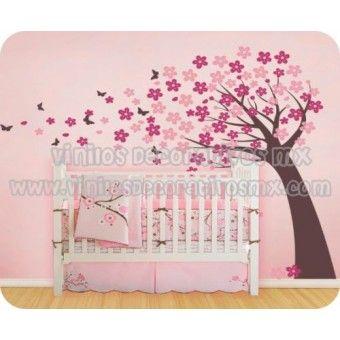 Vinilos decorativos de arboles infantiles 168 arbol con - Vinilos de arboles ...