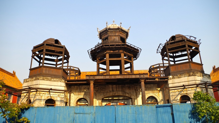"""Ironwork."" Forbidden City. Beijing, China. Photo by Kayla Hedman"
