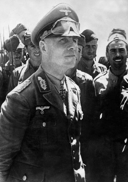 . Where Rommel is, there is the front. Actually when the invasion began he was at home celebrating his wife's birthday!