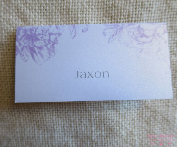 Placecard 49