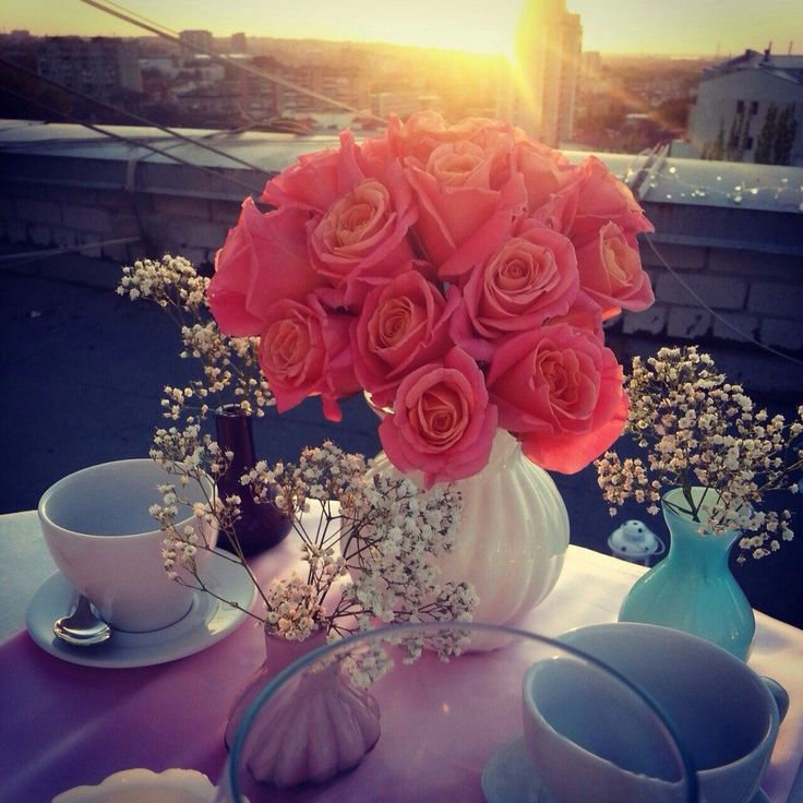Романтические ужины на крыше