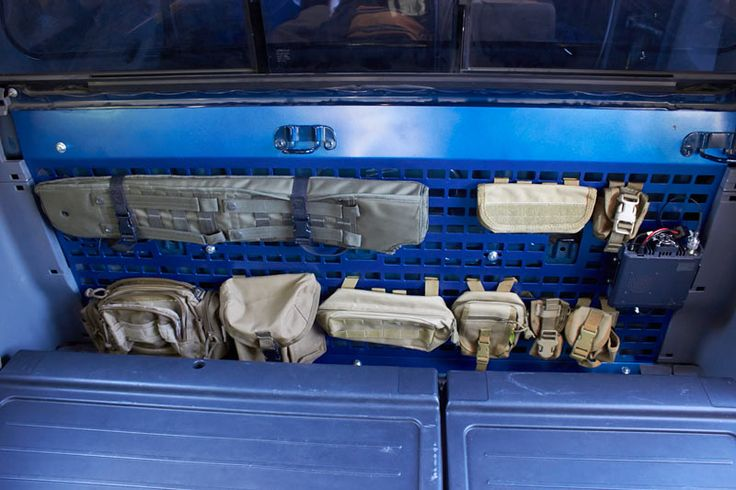 Molle panel for behind the rear seats is there interest - 2013 toyota tacoma interior accessories ...