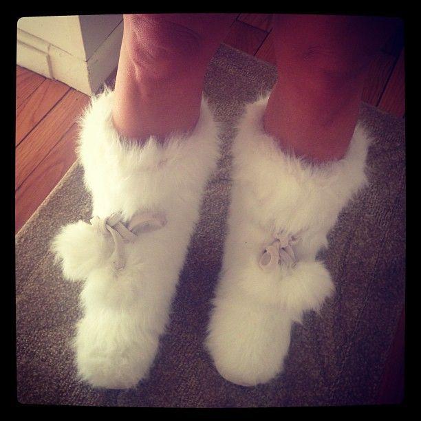 Vs Fuzzy Boots ❤